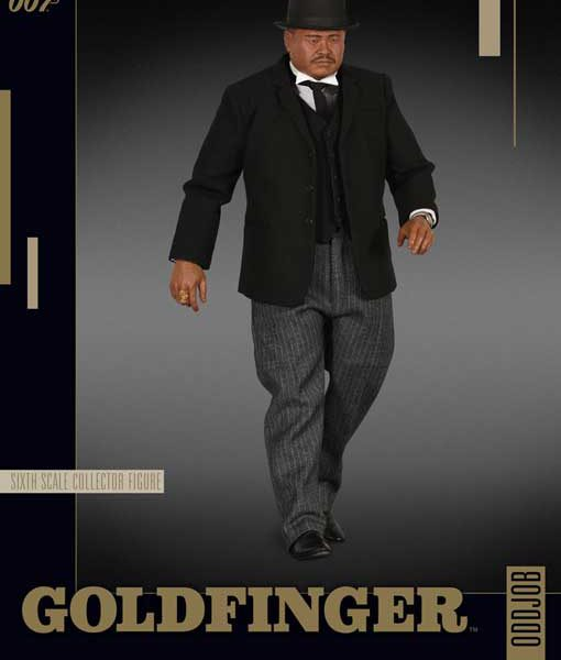 Oddjob-James-Bond-Sideshow-Samlarfigur