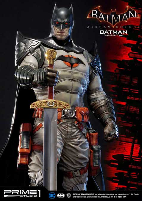Batman Arkham Knight Staty Batman Flashpoint Ver.