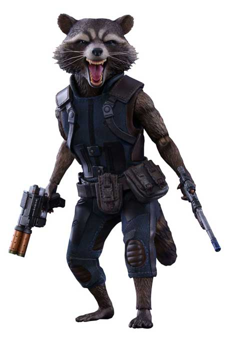 Guardians of the Galaxy Vol 2 MMS Actionfigur 1/6 Rocket Raccoon