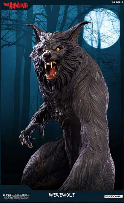 The Howling Staty 1/4 Werewolf