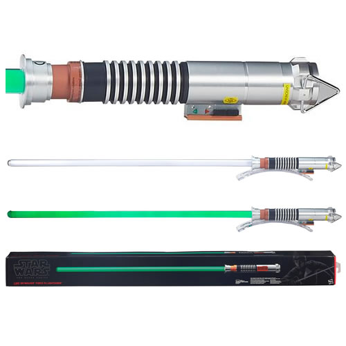 The Black Series Luke Skywalker Force FX Lightsaber