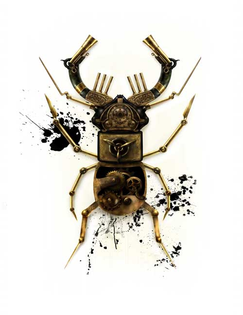 Beetle av Rehbelle Artwork