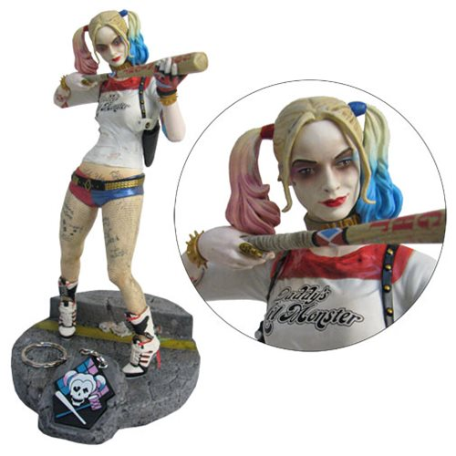 Suicide Squad Harley Quinn Finders Keypers Staty
