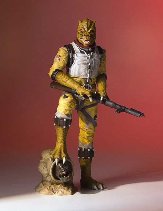 Bossk Star Wars Collectors Gallery Staty 1/8