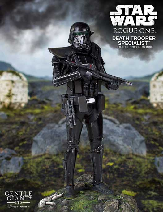 Death Trooper Specialist Rogue One Collectors Gallery Staty 1/8