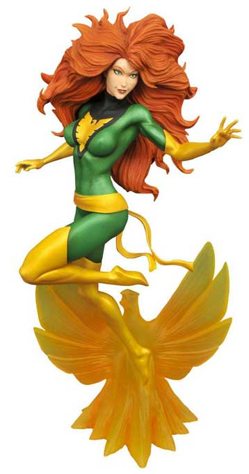 Jean Grey Marvel Gallery PVC Staty