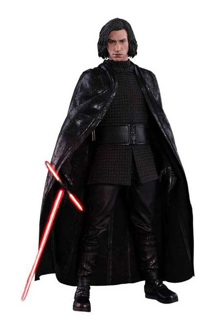 Kylo Ren Star Wars VIII Movie Masterpiece Actionfigur 1/6