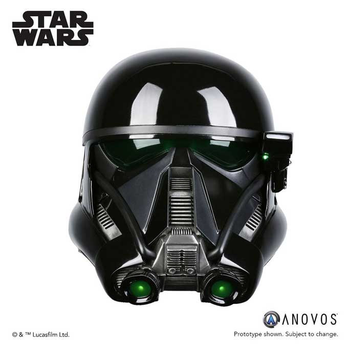 Star Wars 1/1 Death Trooper Specialist Helmet Accessory Ver