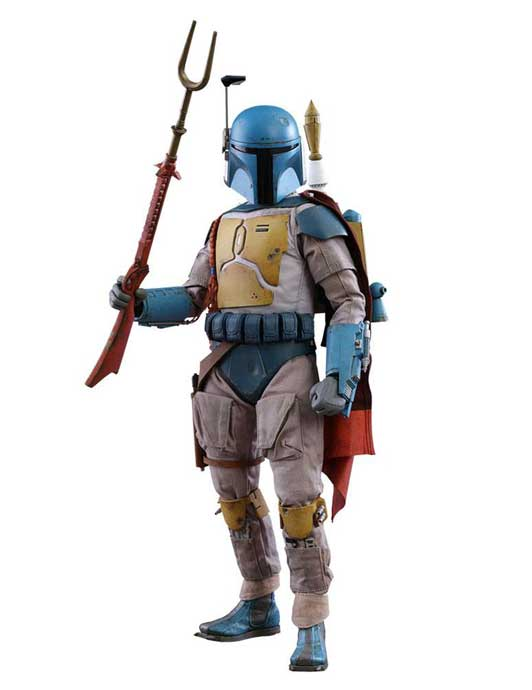 Boba Fett Animation Ver. Sideshow Exclusive MMS Actionfigur 1/6