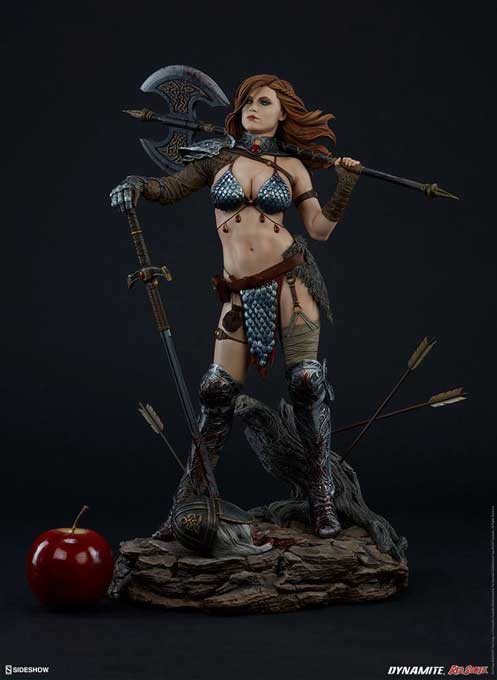 Red Sonja Queen of Scavengers Premium Format Figur
