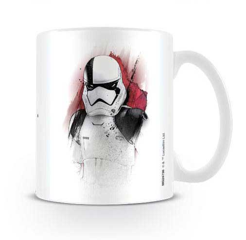 Star Wars The Last Jedi Trooper Brush Mugg
