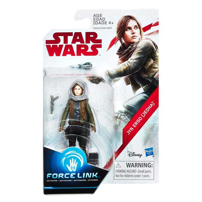 Jyn Erso Jedha Rogue One Force Link Actionfigur
