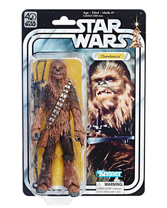 Chewbacca Episod IV Actionfigur – Star Wars Black Series 40th Anniversary