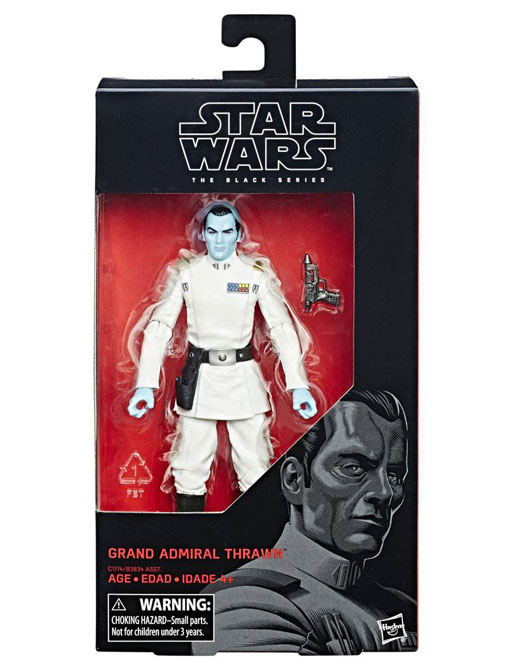 Grand Admiral Thrawn Rebels Actionfigur – Star Wars Black Series