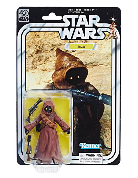 Jawa Episod IV Actionfigur – Star Wars Black Series 40th Anniversary