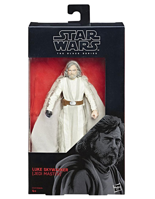 Luke Skywalker Jedi Master Actionfigur – Star Wars Black Series