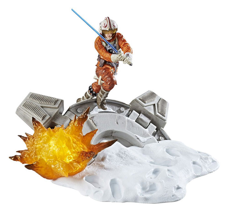 Luke Skywalker Star Wars Black Series Centerpiece Diorama 2017