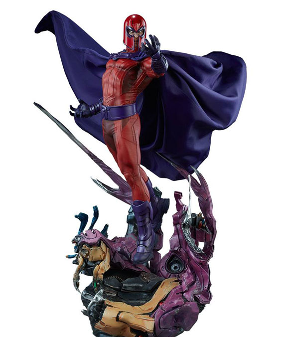 Magneto Marvel Comics Maquette Sideshow Collectibles