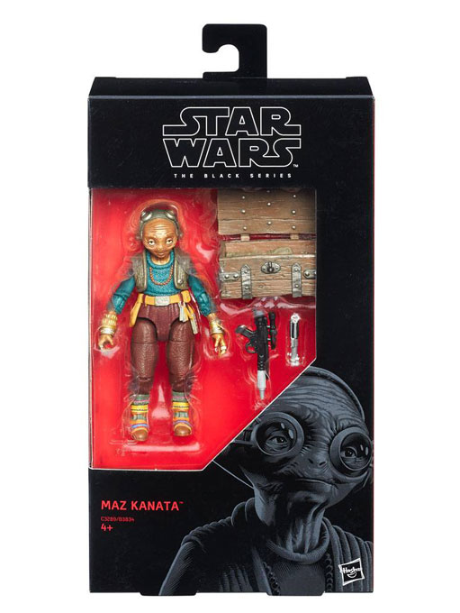 Maz Kanata Episode VII Actionfigur Star Wars Black Series