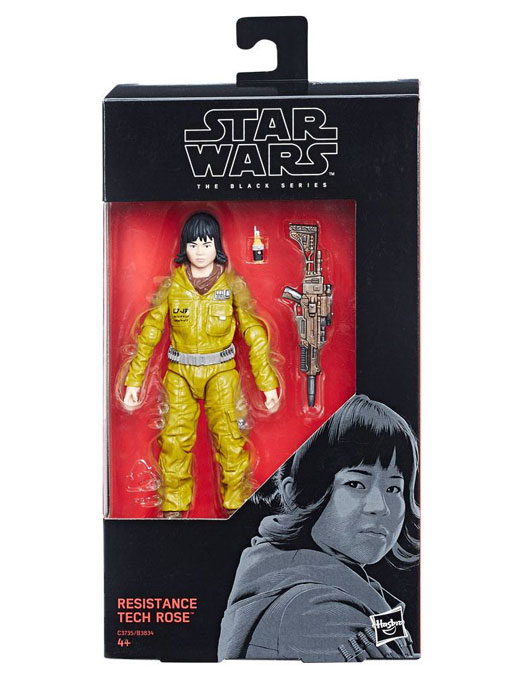 Resistance Tech Rose Episod VIII Actionfigur Star Wars Black Series