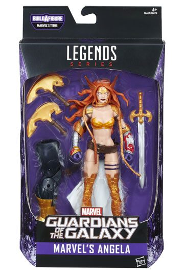 Angela Actionfigur Marvel Legends Guardian of the Galaxy