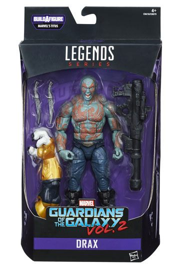 Drax the destroyer Actionfigur Marvel Legends Guardians of the Galaxy