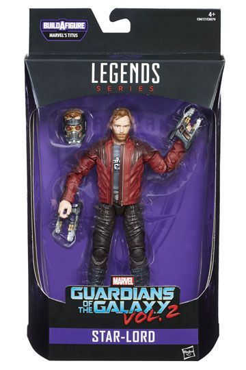 Star-Lord Actionfigur Marvel Legends Guardians of the Galaxy
