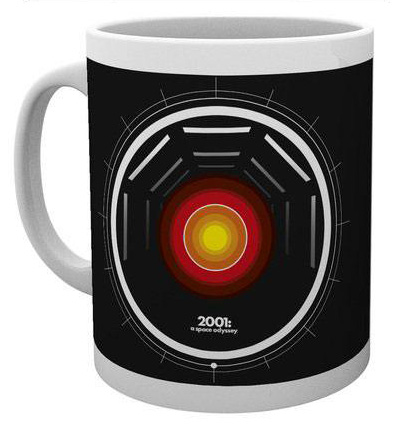 Hal 2001 A Space Odyssey Mugg