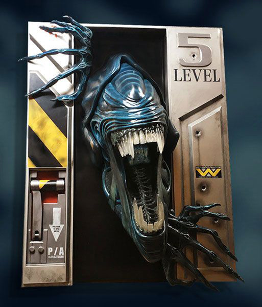 Aliens Life-Size Wall Sculpture Alien Queen