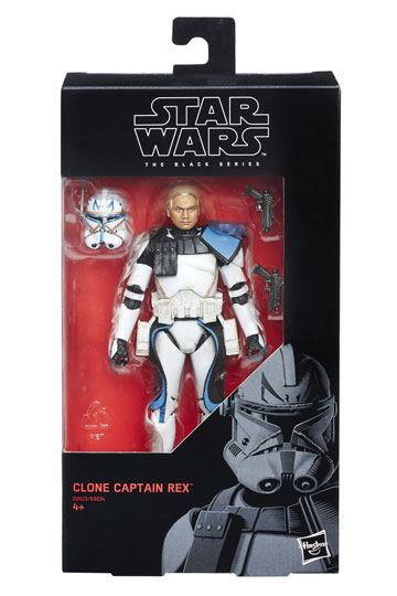 Clone Captain Rex Actionfigur Star Wars Black Series 2018 Wave 1