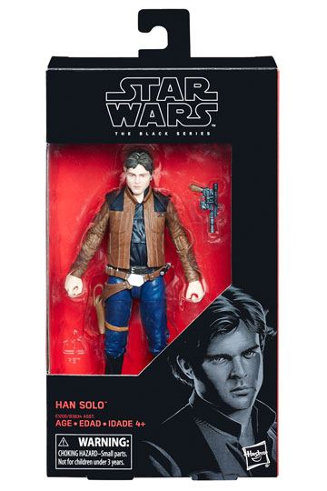 Han Solo Star Wars Black Series Actionfigur