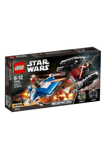 LEGO Star Wars Microfighters Episode VIII A-Wing vs TIE Silencer
