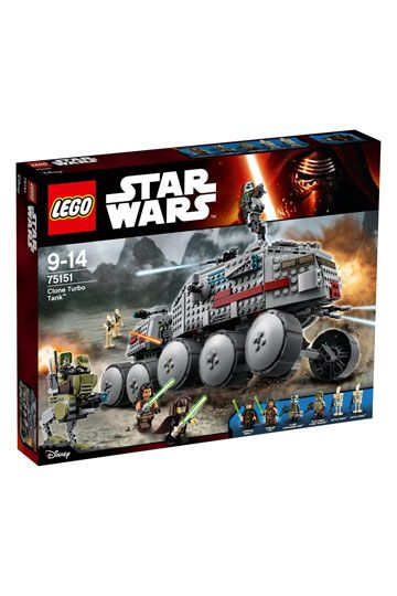 LEGO Star Wars Episode III Clone Turbo Tank