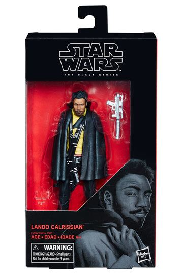 Lando Calrissian Solo Black Series Actionfigur