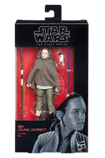 Rey Island Journey Solo Black Series Actionfigur