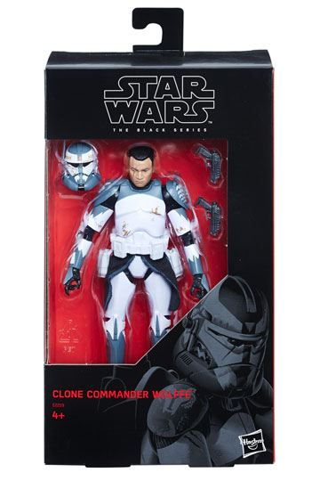 Commander Wolffe Exklusiv Actionfigur Star Wars Black Series