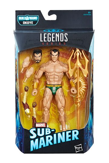 Sub-Mariner Actionfigur Marvel Legends 2018 Wave 1