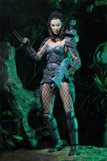 Machiko Predator Actionfigur Series 18 Neca