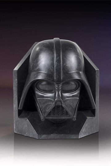 Darth Vader Stonework Faux Marble Bookhållare