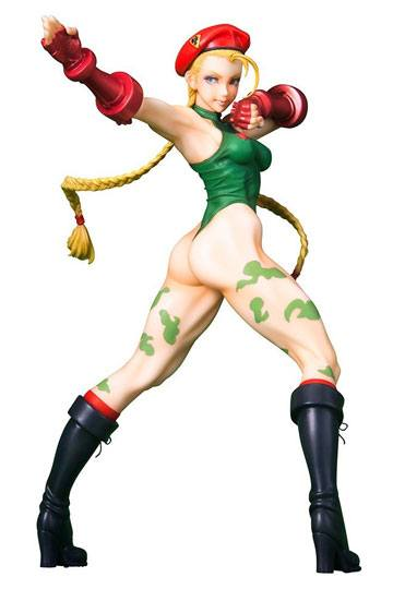 Cammy Street Fighter Bishoujo staty