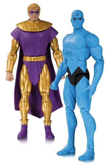 Ozymandias & Dr Manhatten Doomsday Clock 2-Pack Actionfigur