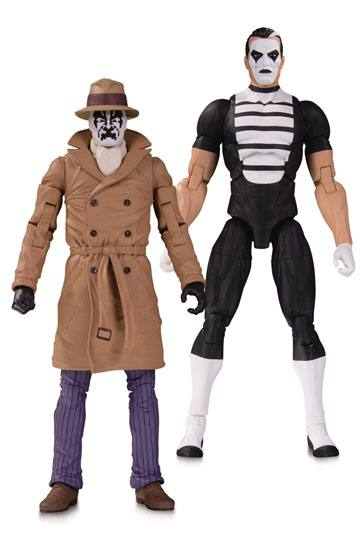 Rorschach & Mime Doomsday Clock 2-Pack Actionfigur