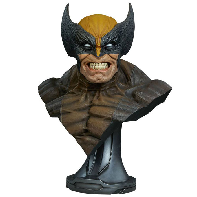 Wolverine Marvel Comics Sideshow Collectibles Bust 1/1