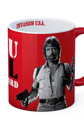 Chuck Norris Mugg See You In Hell