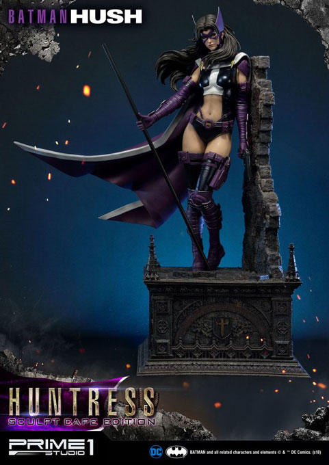 Batman Hush Statue 1/3 Huntress Sculpt Cape Edition