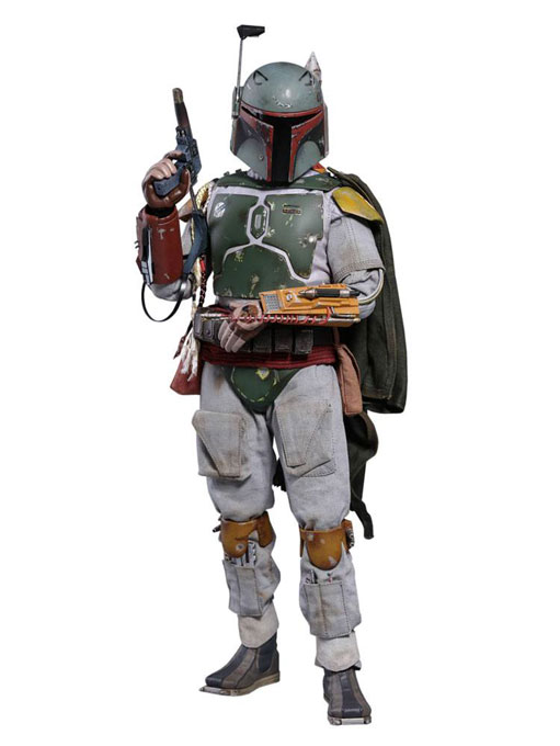 Boba Fett Star Wars V Hot Toys Deluxe MMS Actionfigur 1/6