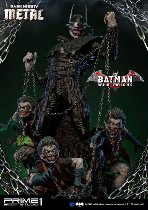 Dark Nights: Metal Statue 1/3 Batman Who Laughs