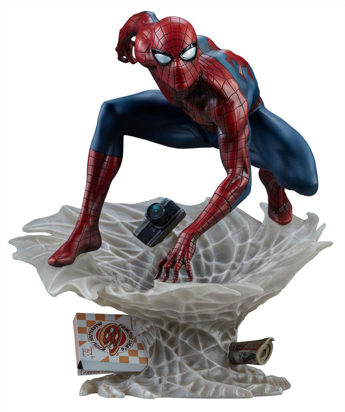 Spider-Man Staty Marvel Comics Mark Brooks Artist Series