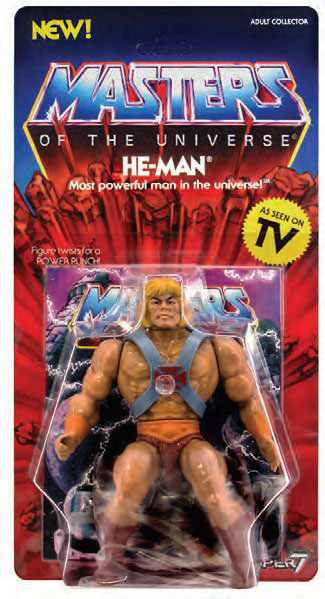 He-Man Masters of the Universe Vintage Collection Actionfigur