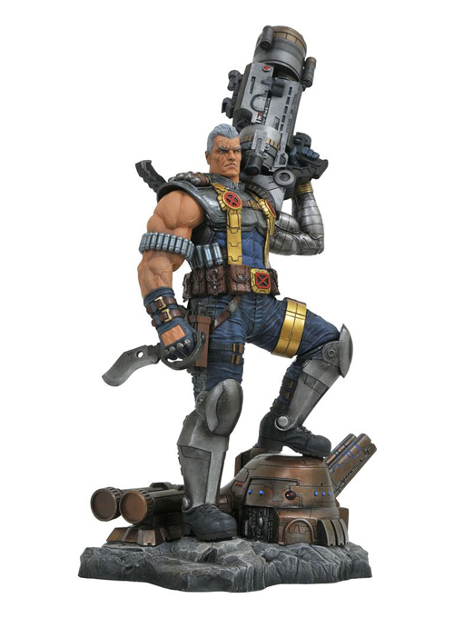 Cable Marvel Premier Collection Staty